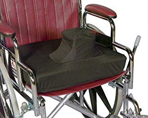 Skil-Care Leg Abductor Cushion, Gel-Foam Cushion with Vinyl Inner Cover and Cloth Outer Cover