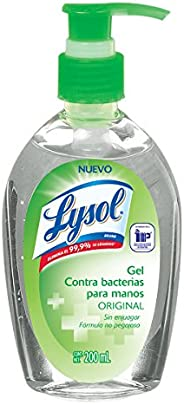 Lysol Gel Antibacterial para Manos, 200ml