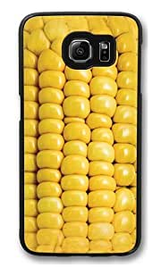 Corn on the Cob Polycarbonate Hard Case Cover for Samsung S6/Samsung Galaxy S6 Black