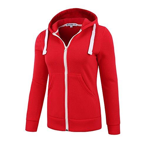 Ladies Red Flame Jacket - 3