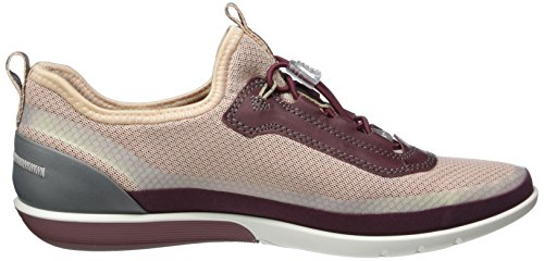 Sense Sneaker Bordeaux Dust Basse Rose Donna Light ECCO bord Rot 50550bordeaux gqwnZAxH