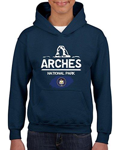 NIB Arches National Park Sandstone Arch Utah Youth Hoodie Hooded Sweatshirt ()