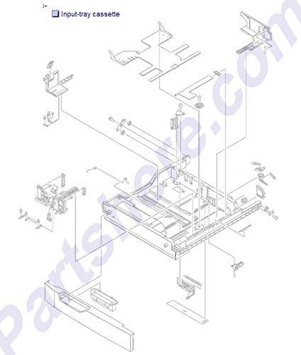 4 5 HP RM1-3529 HP CP6015//CM6030//CM6040 500 Sheet Paper Tray 3