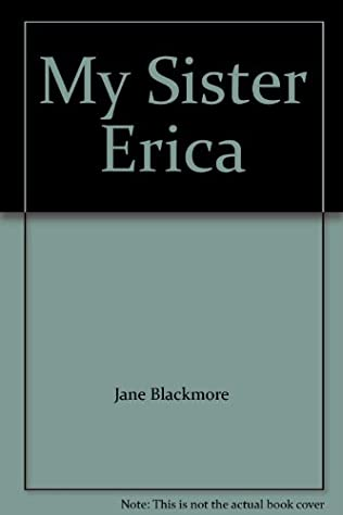 book cover of My Sister Erica