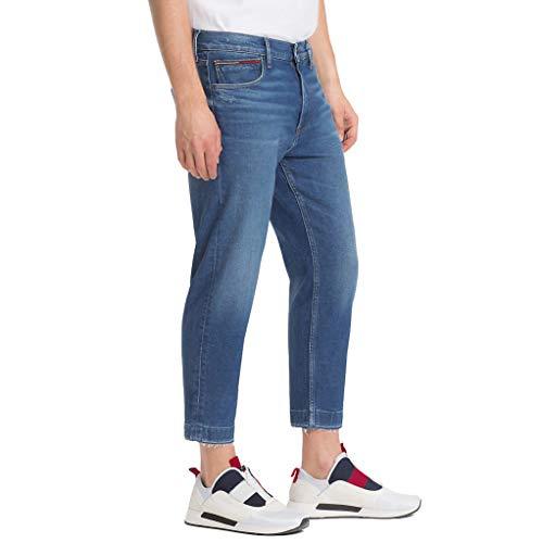 Blue Relaxed Tj Hilfiger Cropped 911 Tommy Dark Uomo Randy Dm0dm04912 Comfort Jeans 4aqUv