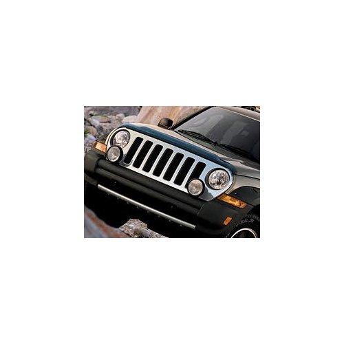 2005-2006 Jeep Liberty Renegade Mopar Chrome Grille - (Jeep Liberty Chrome Grille)
