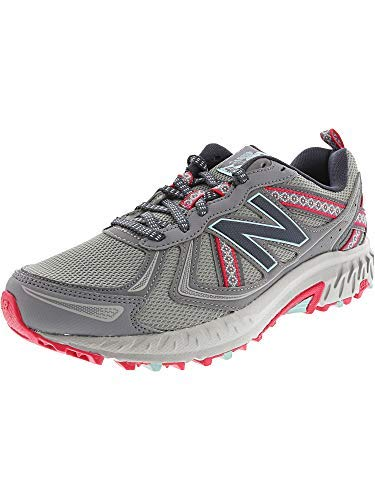 New Balance Women's 410V5 Trail Shoe Runner, Silver Mink, 9.5 B US