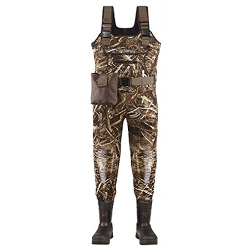 Lacrosse Men's Swamp Tuff Pro 1000G Medium,Mossy Oak Shadowgrass Blades,US 7 M