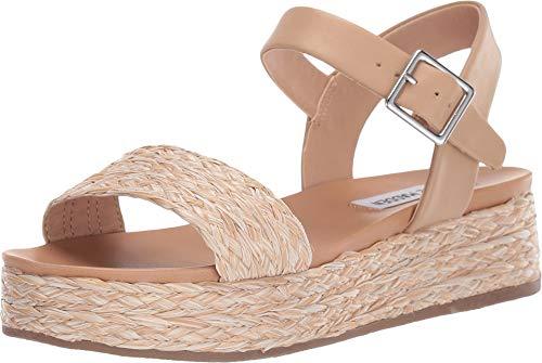 Sandals Raffia Platform - Steve Madden Women's Accord Platform Sandals Natural Raffia 8.5 M US