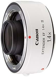 Canon EF 1.4x III - Adaptador para objetivos de cámaras Canon EF 70-200mm f/2.8L, EF 70-200mm f/2.8L IS, EF 70-200mm f/4L, EF 100-400mm f/4.5-5.6L, color blanco