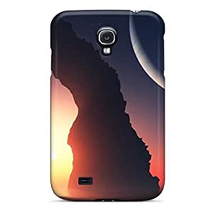 Cute Appearance Cover/tpu Ekjms3184OhUYB Arch Moonlight Case For Galaxy S4