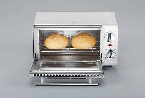 SEVERIN TO 2054 Horno Tostador incluye Rejilla grill y Bandeja de horno, 800 W, 9 L, color blanco: Amazon.es: Hogar