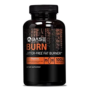 BASE BURN Thermogenic Fat Burner & Weight Loss Pills for Women & Men Appetite Suppressant & Weight Loss Supplement that Works Best Fat Burner with Forskolin & Green Tea Extract 60 Veggie Caps