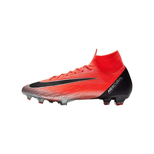 Nike Men's Mercurial Superfly 360 Elite CR7 FG-Flash Crimson/Total Crimson/Black (9) (2015 Soccer Nike Shoes Men)