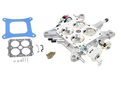 Throttle Bores - Quick Fuel Technology 12-600QFT Die Cast Carburetor Base Plate 4 Barrel 1 9/16 in. Throttle Bore Mechanical Secondary Die Cast Carburetor Base Plate