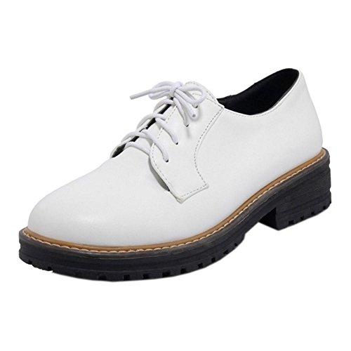 White Low Heel Women KemeKiss Shoes Spring qpAxXU