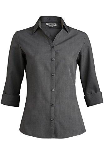 Ed Garments 5292 Women's Batiste 3/4 Sleeve - Steel Grey - XX-Large ()