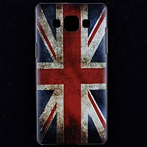 HJZ Embossment Vintage British Flag Pattern Hard Case for Samsung Galaxy A5