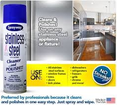 Sprayway Stainless Steel Cleaner, 2/15oz Can, Pack of 12 by Sprayway (Image #1)