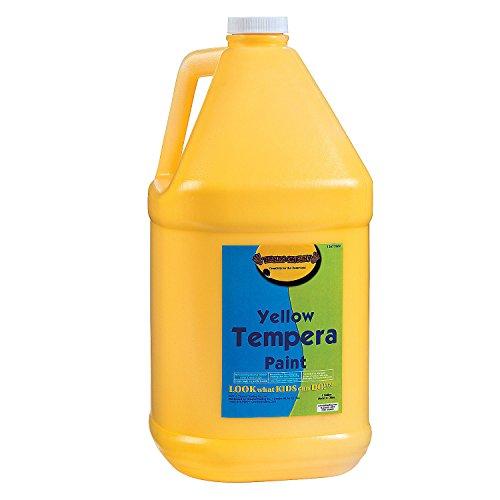 gallon-tempera-paint-yellow