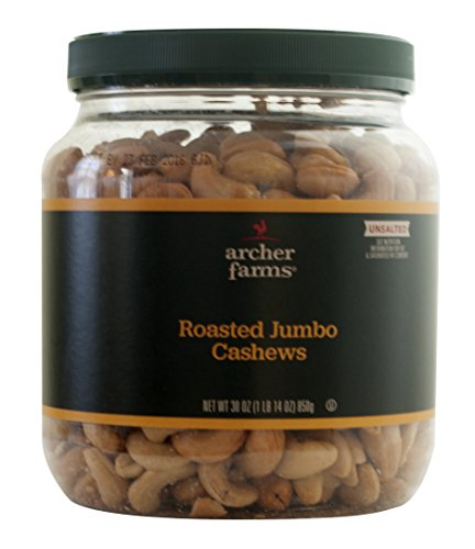 Archer Farms Unsalted Roasted Cashews product image