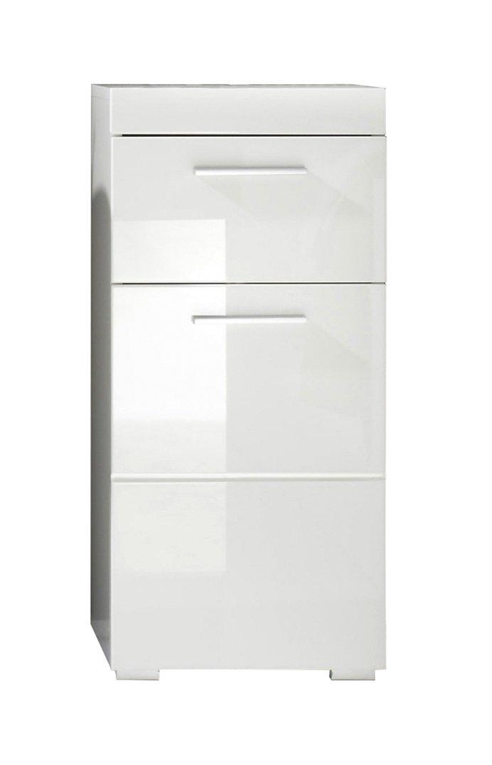 Trendteam 139380201 Mobili Derivato Del Legno 37 X 79 X 31 Cm Bianco  Lucente: Amazon.it: Casa E Cucina