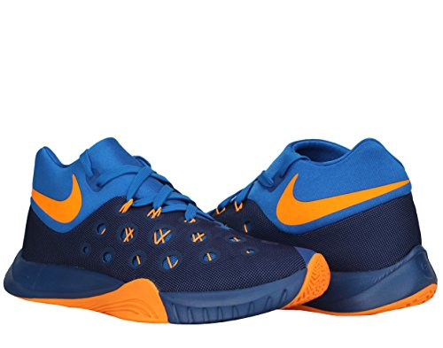 8c992da970ca Nike Zoom Hyperquickness 2015 Men Basketball Sneakers New Insignia Blue  Bright Citrus - Buy Online in Oman.