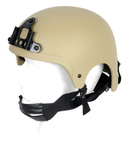 Lancer Tactical CA-331 IBH NVG Safety Airsoft Helmet (Tan)