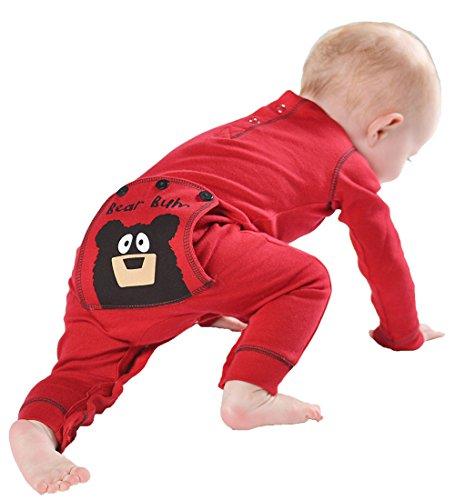 fa0e11aa8504 LazyOne Infant Flapjack Onesies (12 Month