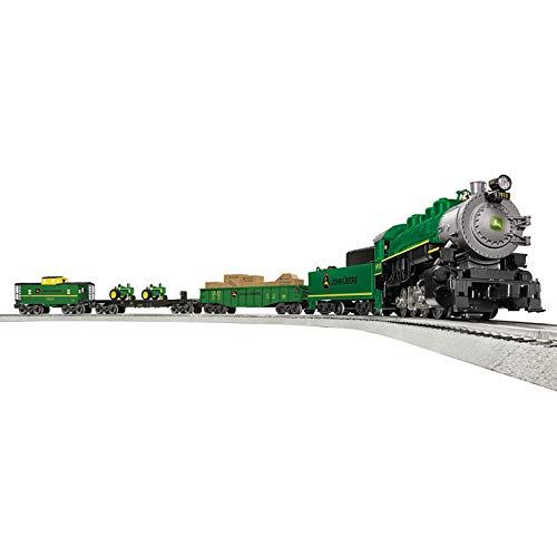 - Lionel John Deere Steam LionChief Train Set - O-Gauge