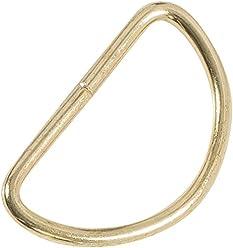 Dritz 117-112-65 D-Rings 1-1//2-Inch 4-Count Nickel