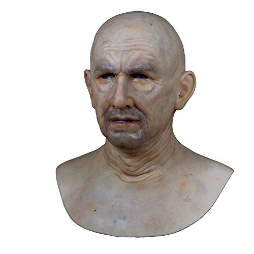 CLNN-1 Soft Realistic Mask Realistic Silicone Mask Party Halloween mask]()
