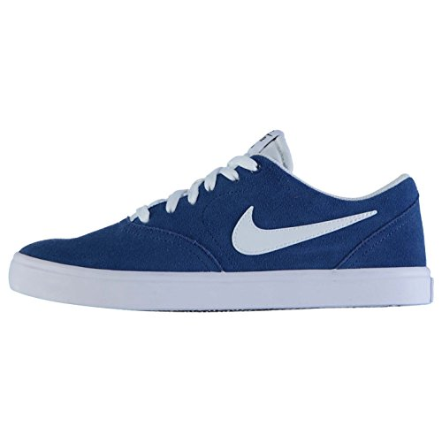 Blau Skateboarding Shoe Nike Check 410 SB Men's Solarsoft 843895 w0HY8qTxn