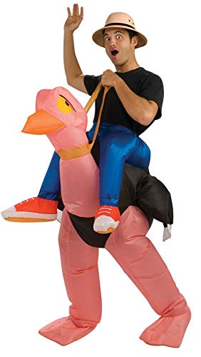 Inflatable Ostrich Rider Halloween Costume]()