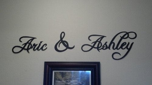 Custom Order Names Letters and Words Per - Custom Metal Shopping Results