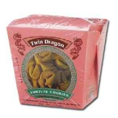 Twin Dragon Fortune Cookie (Pack of 24)