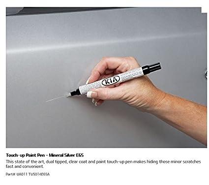 Touch Up Paint >> Kia Ua011 Tu5014e6sa Touch Up Paint Pen Mineral Silver 0 5 Fl Oz