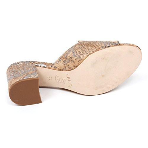 C9178 sandalo donna UNISA OJARA scarpa beige sandal shoe woman Beige
