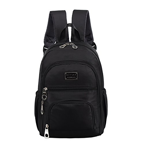 AOTIAN Small Nylon Women Backpacks Casual Lightweight Strong Packback Daypack For Girls Cycling Hiking Camping Travel Outdoor