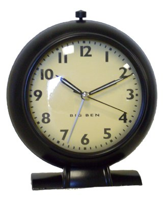 Westclox Retro 1939 Big Ben Black Alarm Clock