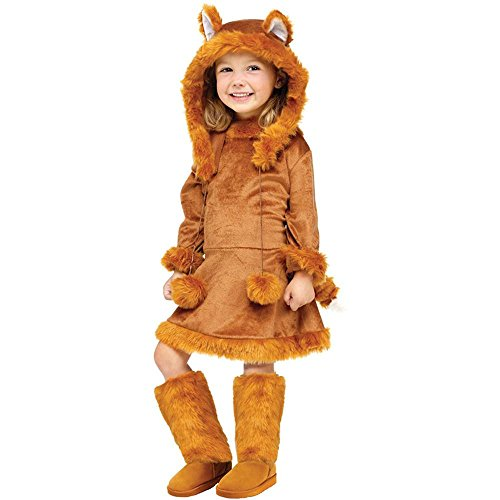 Toddler/girl's Sweet Fox Costume (Sweet Fox Toddler Costume - Large)