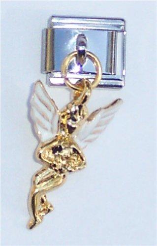 - Dangle Guardian Angel Italian Charm