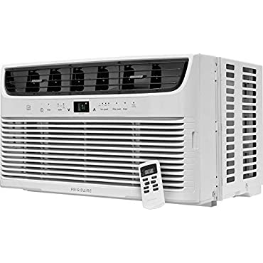 Frigidaire FFRE063ZA1 19 Energy Star Window Mounted Air Conditioner with 6000 BTU Cooling Capacity With Remote 115V in White