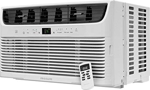 Frigidaire FFRE063ZA1 19'' Energy Star Window Mounted Air Conditioner with 6000 BTU Cooling Capacity With Remote 115V in White by FRIGIDAIRE