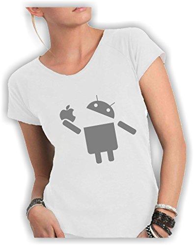 Social Crazy - Camiseta - para mujer Bianco
