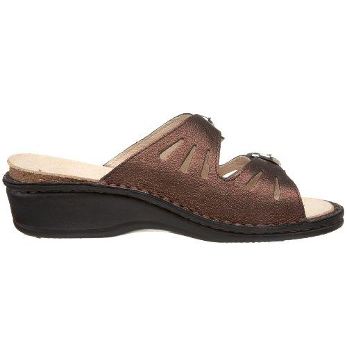 La Plume Women's Amalfi Sandal Bronze affordable online hmswe