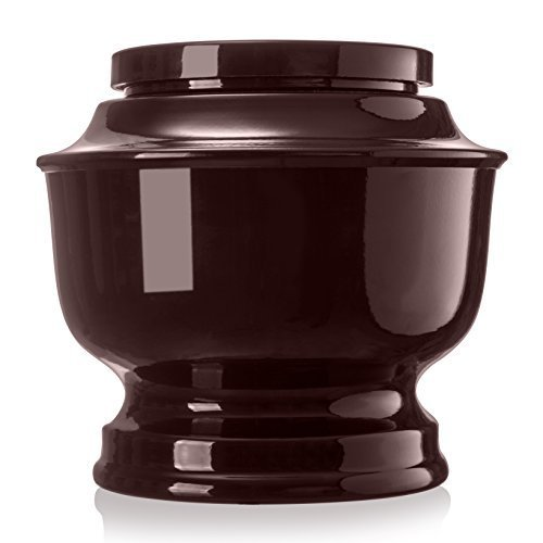 SmartChoice Classic Funeral Cremation - Urn for Human Ashes - a Variety of Colors Available, Adult, with Velvet Bag ()