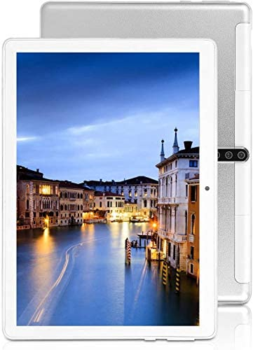 10 inch Android Tablet PC with Octa Core CPU,4G ROM 64G ROM, SIM Card Slot,3G-, 5G-WiFi GPS Bluetooth, 3G Unlocked Tablet,M20 (Silver)