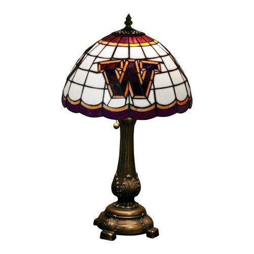 NCAA Washington Huskies Tiffany Table Lamp - Academy Table Lamp