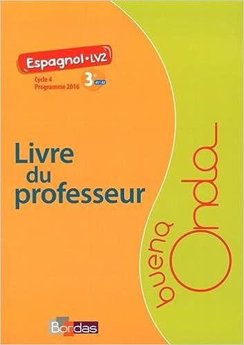 Amazon Fr Espagnol 3e A1 A2 Buena Onda Livre Du